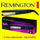 Remington S3500 Ceramic Straight 230C Slim Hair Straightener 4 x Protection NEW