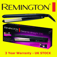 Remington S3500 Ceramic Straight 230C Slim Hair Straightener 4 x Protection NEW