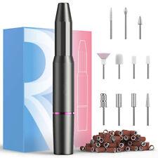 Nail Drill Machine, Electric Nail File, Nail drills for Acrylic Nails (Gray)