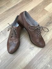 JONES THE BOOTMAKER BROWN LEATHER BROGUES LACE UPS SIZE 6 39 womens
