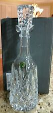 WATERFORD LISMORE WINE DECANTER, 26 OUNCE.