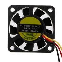 3 Pin Connector DC12V Brushless Computers Cooling Fan Heatsink Marine CPU 20 cm