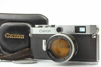 [EXC+5 in Case] Canon P Rangefinder Camera 50mm f/1.4 Lens From JAPAN #1209-0609
