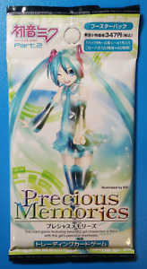 Precious Memories Japanese Collectible Cards Booster Pack Hatsune Miku VOCALOID