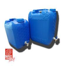 Wasserkanister mit Metallhahn 10 Liter Tank geeignet für LKW Volvo Mercedes MP4