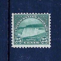 US #568 MNH OG   1923  25c  Flat Press Regular ~ Perf 11X11...Free Shipping!