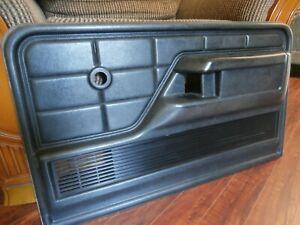 Original 1973-1979 Ford F-100 OEM Black Door Panel, Single, Passenger Side Only