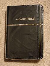 French Bible, Louis Segond 1910,  Black,  Imitation Leather, La Sainte Bible f/s