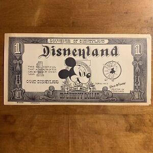 Rare 1955 Disneyland Happy Dollar - Original Disney Dollar?