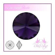 Rivoli Schmucksteine Purple Velvet Kristalle 14mm 2 Stück zum Schmuck Basteln