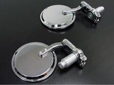 Specchietti Specchi Moto Bar End Manubrio per Ducati Buell Contrappesi Cromo M76