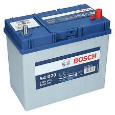 Bosch S4 020 12V 45Ah 330 A EN Autobatterie Starterbatterie ersetzt 50Ah 55Ah