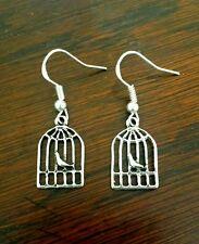Love Bird Earrings Gypsy Spiritual Hipster Festival ♡ Silver925 Hooks