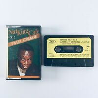 Nat King Cole - Sweet Lorraine Vol 2 (1985) Cassette Tape - Play Tested