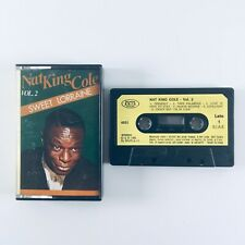More details for nat king cole - sweet lorraine vol 2 (1985) cassette tape - play tested