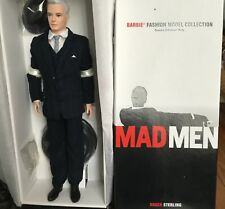 Mad Men Character Doll Rodger Sterling MIB NEW by Barbie Collectibles Silkstone