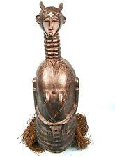 Art Africain - Important Masque Mende - Pièce Ancienne - Sierra Leone - 77 Cms