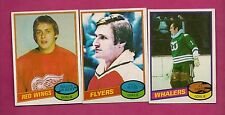 1980-81 TOPPS MYRE + GILBERT  + AL SMITH  GOALIE EX-MT CARD  (INV#2343)
