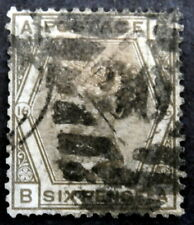 GB - 1873-80: Queen Victoria 6p gray, Scott# 62