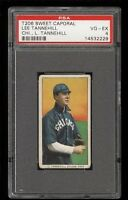 1909-11 T206 Lee Tannehill CHICAGO, L. TANNEHILL Sweet Caporal PSA 4 VG - EX