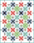 Snowflakes+QUILT+KIT+%2F%2F+Quilt+Pattern+%2B+Moda+Hazelwood+Fabric