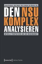 Den NSU-Komplex analysieren (2017, Taschenbuch)