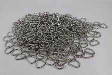 JOB LOT 100 NEW Welded Metal D Rings 2.7Kg Bundle For 25mm Webbing High Quality