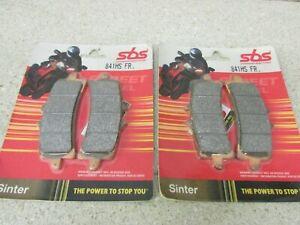SUZUKI GSX-R1000 GSX-R600 GSX-R750 SBS SINTERED FRONT BRAKE PADS 841HS PR