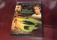 The Fast and the Furious (DVD, 2003, Tricked Out Edition; Widescreen) *LN*