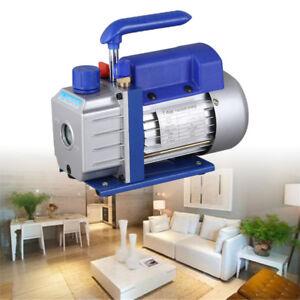 1/4HP 2.5CFM Vacuum Pump Rotary Vane 1440r/min HVAC Air Refrigeration Tool New