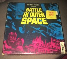 """Super 8 Film""""Battle In Outer Space"""" 200ft Colour/silent Very Rare."""