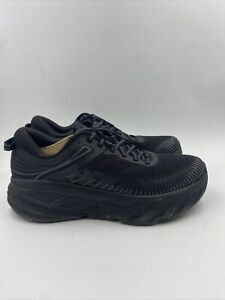 Hoka One One Mens Bondi 7 Running Shoe Black/black Size 9.5 M , 041
