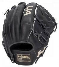 "Under Armour Baseball Flawless 12"" Fielding Glove Mitt Closed Web (Black LHT)"