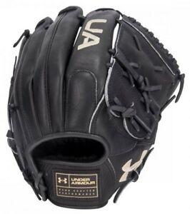 "Under Armour Baseball Flawless 12"" Fielding Glove Mitt Closed Web (Black LHT)"