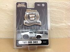 1:64 MUSCLE MACHINES 5TH ANNIVERSARY BLOWN / SUPERCHARGED 1969 FORD BOSS MUSTANG
