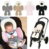 Infant baby soft stroller car seat pillow cushion head body support pad mat TB