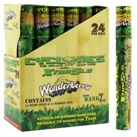 Cyclones WonderBerry - 10 TUBES - Pre Rolled Cones Wood Tips Dank Cyclone