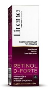 Lirene Retinol D-Forte Rejuvenating Nights Treatment -30ml