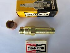 CHAMPION Aircraft Engine SPARK PLUG - GOLD - Part # EF-15 - NEW - Collector Box