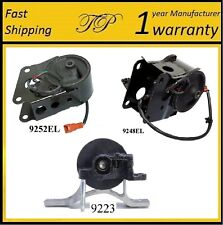 3 PCS FRONT & REAR MOTOR MOUNT FOR 2004-2006 NISSAN MAXIMA 3.5L w/Sensors - AUTO