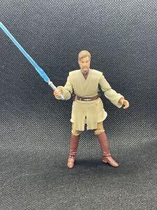 """🔥NEW Hasbro Star Wars Obi-Wan Kenobi Figure 3.75"""" MINT w/Lightsaber"""
