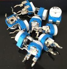 DZ917 200K OHM Trimpot Trimmer Potentiometer Pot Variable Resistor RM065-204 ♫
