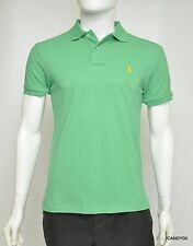 Nwt Ralph Lauren Polo Pony Mesh Shirt Cotton Short Sleeves T-Shirt Top ~Green *S