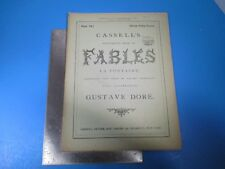 Vintage Cassell's Illustrated Book of Fables La Fontaine #18 - Gustave Dore L993