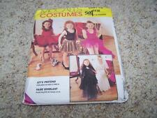 McCalls 7848 Childs Costumes Halloween Sewing Pattern Sz 5-6 UNCUT Lets Pretend