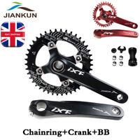 IXF 104bcd MTB Bike Crankset BB 170mm Crank Narrow Wide Round Oval Chainring