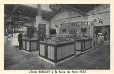 L'Ecole BREGUET - a la foire de Paris 1933