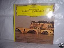 """LP / 33T  GEORGES BIZET """" CARMEN - L'ARLESIENNE - Suites """"  DEUTSCHE GRAMMOPHON"""