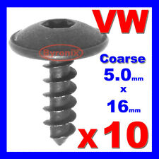 Vw Golf Rejilla Parachoques Falda Torx Tornillo Perno rueda Arco Protector de salpicaduras 5 X 16 Mm