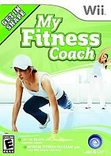 My Fitness Coach ~ Nintendo Wii ~ Complete With Manual ~ Free Shipping